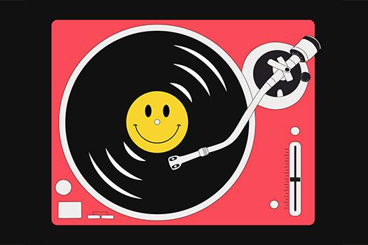 happy record art - Sasha Pankevych - Shutterstock