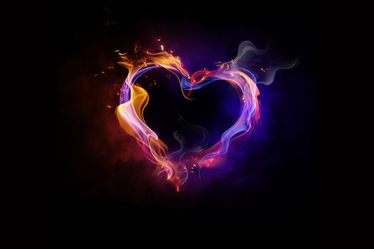 heart on fire art - Yuganov Konstantin - Shutterstock