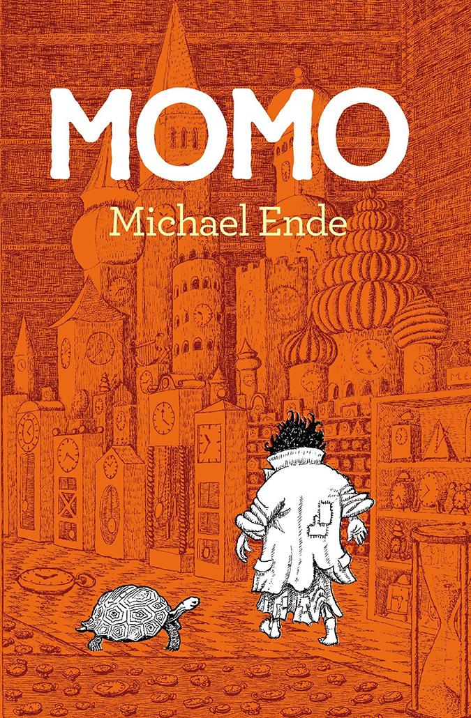 michael ende - momo - book cover - spanish edition - penguin random house