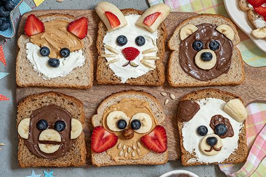 peanut butter animals Elena Shashkina Shutterstock