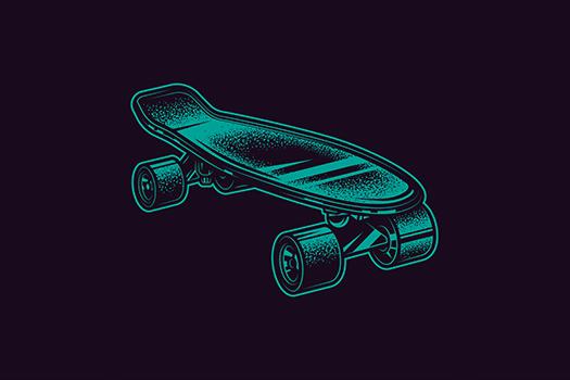 skateboard art - Rakhimov Edgar - Shutterstock