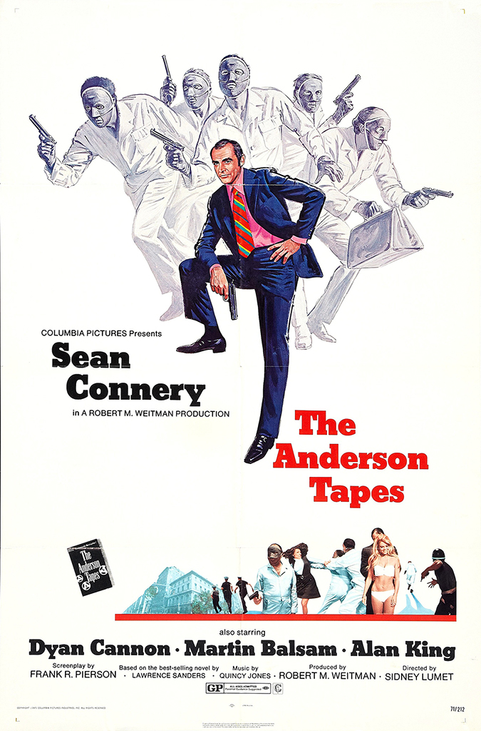 the anderson tapes - movie poster - sony pictures - embed
