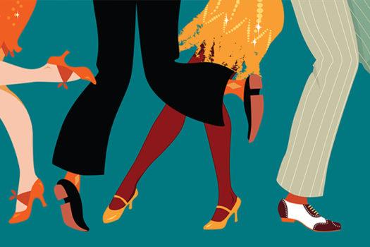 1920s dancing vector - Aleutie - Shutterstock - feature