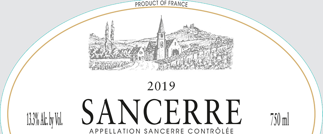 Thomas-Labaille Sancerre Chavignol L'Authentique Rosé 2019 - label - feature