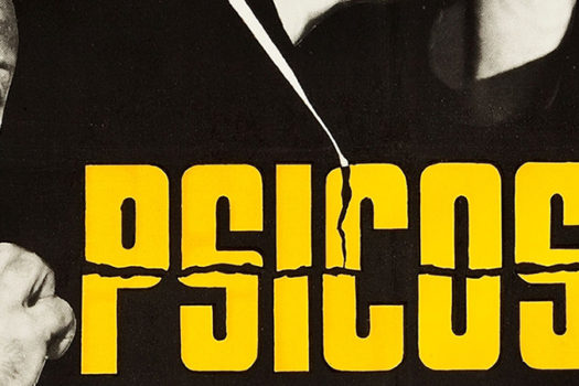 barcelona - spain - psycho - movie poster - 1960 - paramount pictures - feature