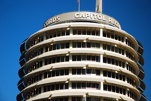 capitol records building - photo by James Kirkikis
