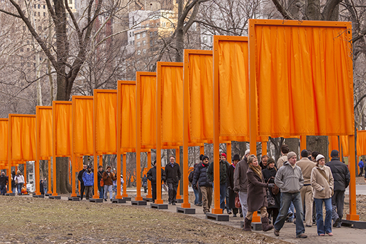 christo - the gates - 2005 - nyc - Rob Crandall - Shutterstock