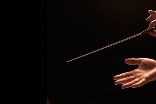 conductor baton - 18percentgrey - Shutterstock