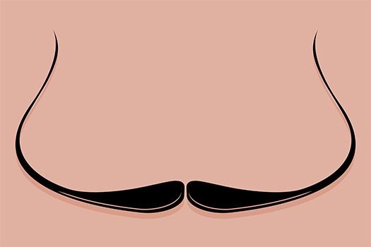 dali moustache art - THPStock - Shutterstock