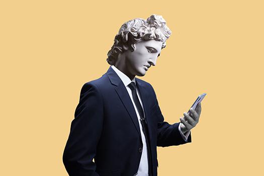 modern day apollo - Art by Unknown man - Shutterstock