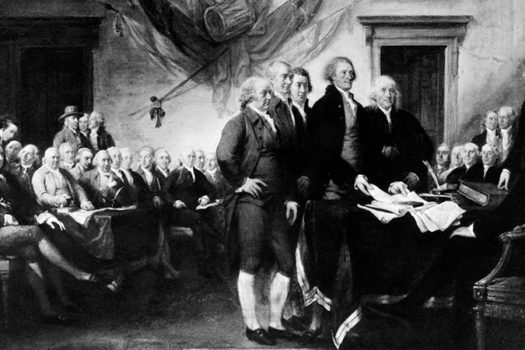 john trumbull - declaration of independence painting - everett collection - shutterstock