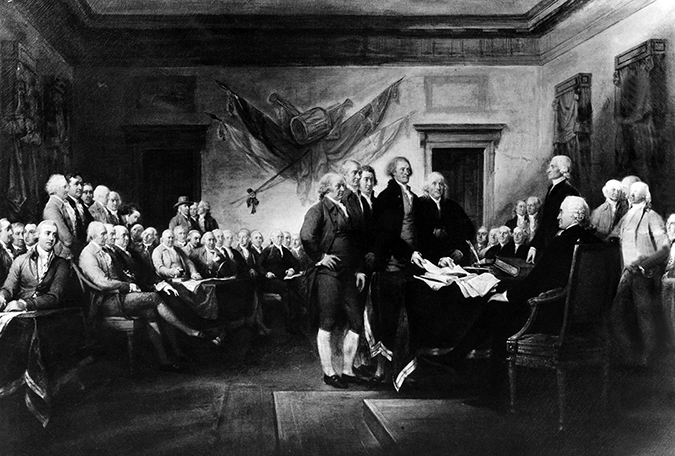 john trumbull - declaration of independence painting - everett collection - shutterstock - embed